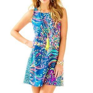 Lilly Pulitzer • Jackie silk shift dress
